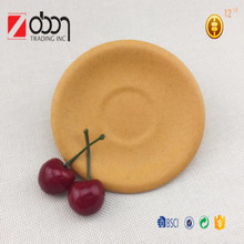Hot selling Eco- friendly OEM bamboo fiber restaurant dishes and plates
