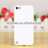 for Apple iPod Touch 5 Pure Color White Cover Skin