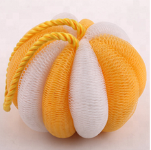 Pumpkin Bath Scrubs Sponge Cleaning Brush