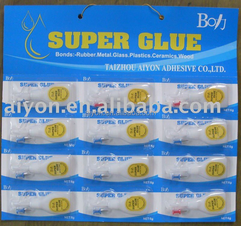 boli super glue 502 with multifunction in plastic bottle