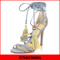 13 years factory made new model women sandals,lades shoes 2016 sandals