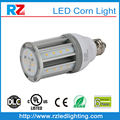 Top quality 6 years warranty DLC/UL/cUL e26/e27/e39/e40 corn led light