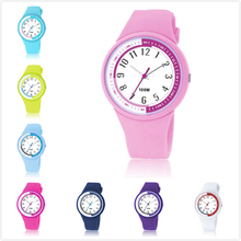 Rubber Watch Wristband Interchangeable Watch face King Quartz Kids Watches