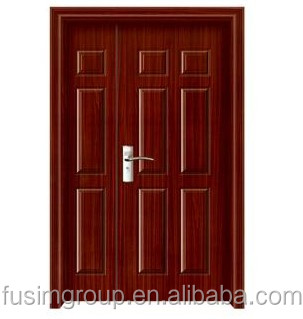 MDF Door Material and Finished Surface Finishing mdf pvc door in china