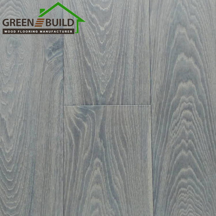 Extraordinary Waterproof <strong>Oak</strong> Brushed Grey Engineered Wood Flooring Plywood