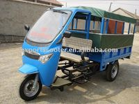 2015 hot 400CC Diesel engine three wheeler for passenger and cargo