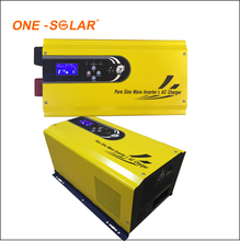 1200va 2400va power inverter with MPPT solar charger controller
