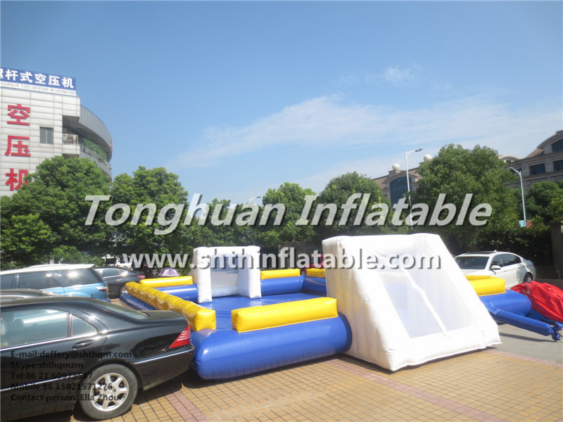 good quallity inflatable football sports/ inflatble water footable game