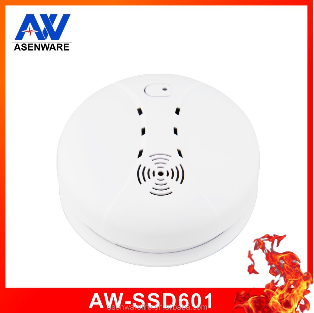 Ionization wireless low voltage smoke sensor