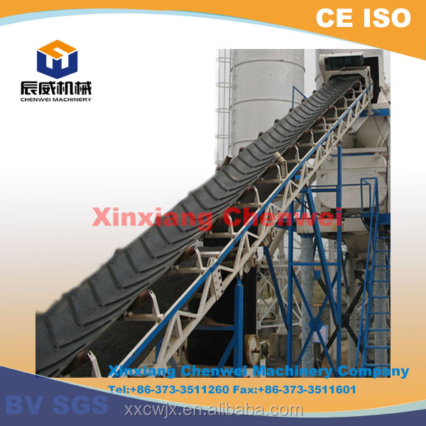 Xinxiang chenwei large capacity long distance customed stainless steel conveyor belt
