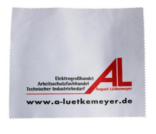 Custom Logo In Microfiber Lens Cleaning Cloth