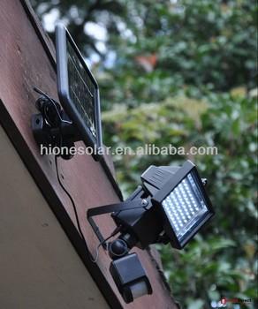 Motion sensor solar security light buy solar security - Focos led exterior solares ...