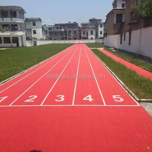 pp interlock synthetic running track