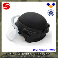 LEVEL 3A PASGT Military Bulletproof Helmet with visor ballistic