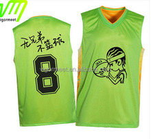 Comfortable Basketball Jersey Set Custom Dry Fit Sublimation Printing Reversible Basketball Shirts And Pants