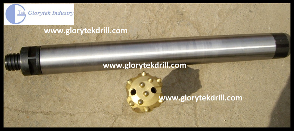 GL90 Small Size Low Pressure DTH Hammer