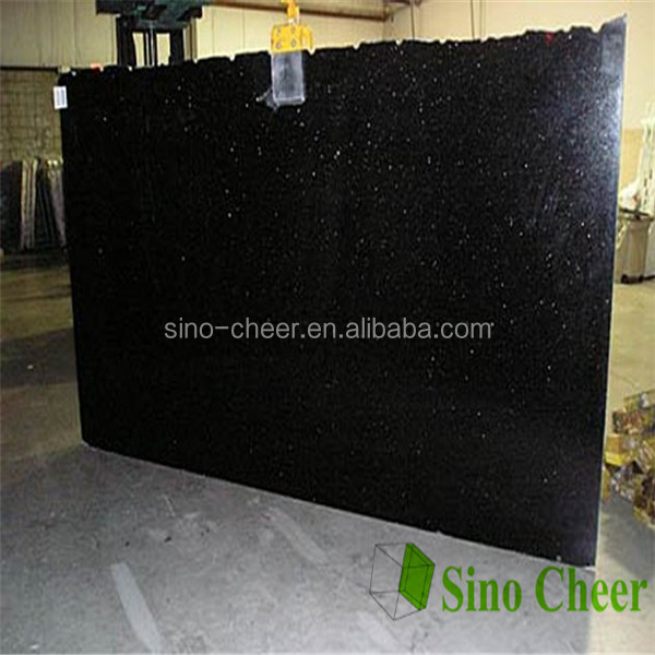 High quality Indian Black Galaxy granite price