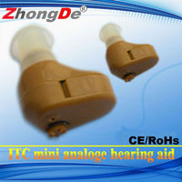 CIC MINI sound amplifier hearing aid with analogue for cheap price