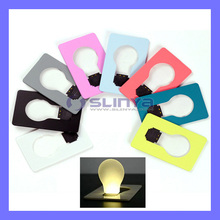 7 Color Foldable Slim Easter Halloween Gift Credit Card Lamp