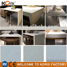chinese wholesale solid surface acrylic pre cut quartz countertop