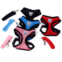 Wholesale Pet Supplies Custom Logo Mesh Protective Buckle Dog Harness