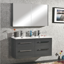 New products wall mounted MDF Bathroom Furniture , bathroom mirror cabinet , bathroom vanity