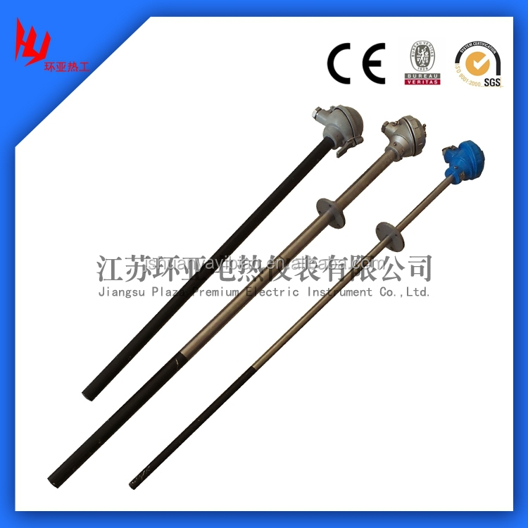 Wear resisting thermocouple/power plant cement plant