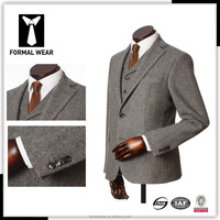 Modern design custom tailored china made men suit