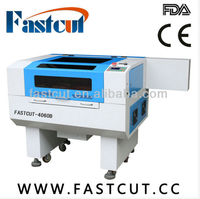 fastcut 4060B Custom Fabrication services red light auto focus rotary axis laser cnc machine