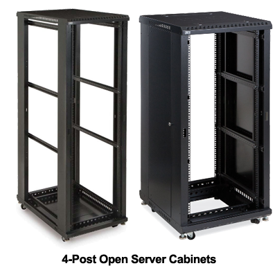 open rack 22u-42u adjustable Open Frame Rack 42u stock With Fan