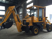 mini hydraulic and mechanical wheel loader digger