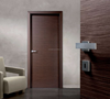 UL Standard 20 Minute Fire Rated Door, Semi Solid Interior Hardboard Wood Flush Door Latest Design