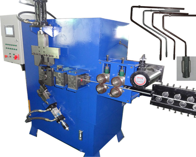 Hot Sale Hydraulic Metal Wire End Chamfering Paint Roller Handle Making Machine with High Quality