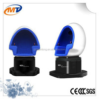 Hot summer sale 360 rotating platform 3 seats 9D VR with high quality vr glasses 3d virtual reality