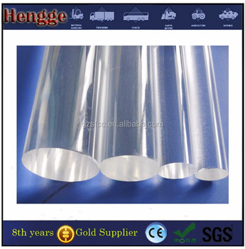 extruded acrylic/PMMA/plexiglass/perspex square rods
