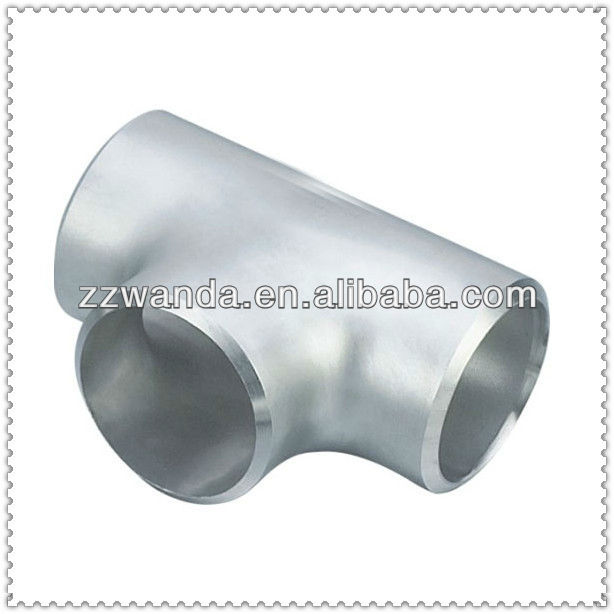 a234 Wpb Seamless Carbon Steel Tee / CarbonSteel Reducing Tee Carbon Steel Butt-Welded Tee