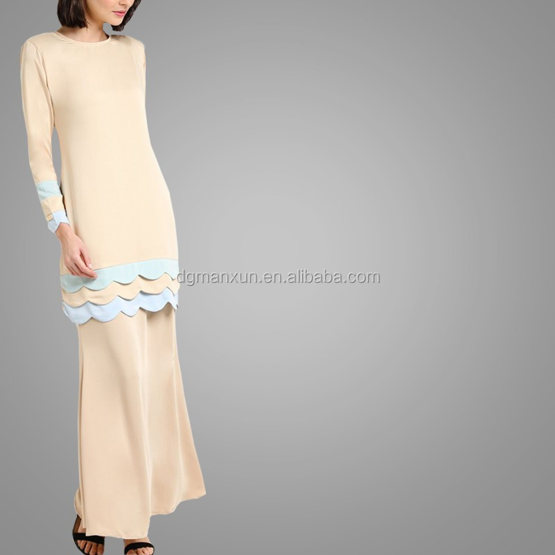 Wholesale Alibaba Muslim Women Fashion Kebaya Modern Stritching Color Baju Kebaya Baju Kurung Girls Dress Names With Pictures (3).jpg