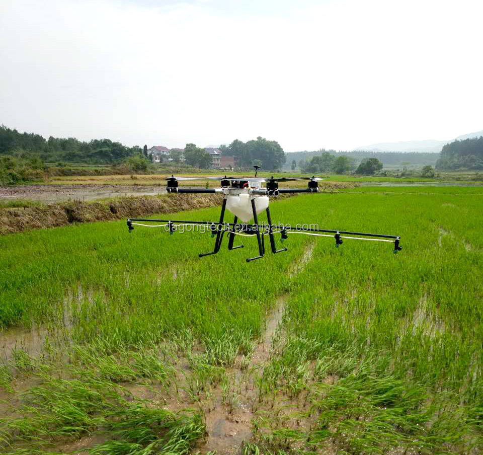 Popular uav sprayer with 10L water tank for pesticide spraying
