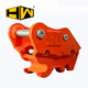 MINI excavator attachment mechanical bucket quick hitch quick coupler