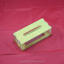 Acrylic tissue paper box napkin box holder for car