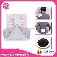 130*100mm 12 hours temperature controlled heating pad/hot pack/hot patch
