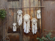 5pcs/set Braided Pattern Lace Dream Catcher Crochet European Home Decor
