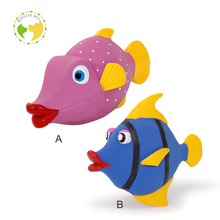 D-0209 Fashionable Professional Small Fish Latex Dog Toy