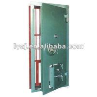 Dual insurance steel fire rated steel vault door safety bank vault doors for sale