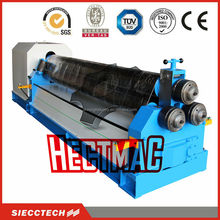 W11 series steel plate rolling machine, sheet metal cone rolling , rolling machine of rolls