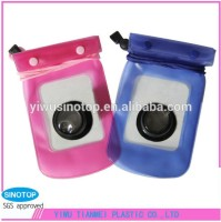 Promotional gifts high quality digital PVC waterproof camera bag