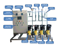 PH and EC or chlorine controll Automatic Chemical dosing system