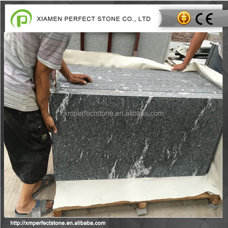 2017 Chinese snow grey granite surface finish granite prices