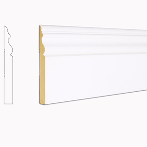 building architrave molding MDF Skirting Board Newport base trim Interior Decoration crown molding