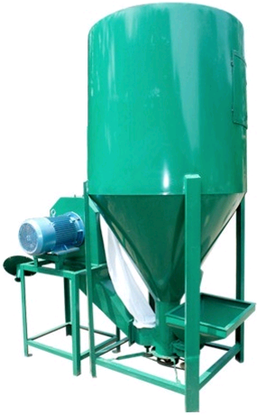 Higher capacity animal feed mixer machine/feeding machine